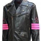 "Legend ""Bret The Hart"" Hitman Leather Jacket"