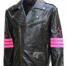 "Legend ""Bret The Hart"" Hitman Leather Jacket"