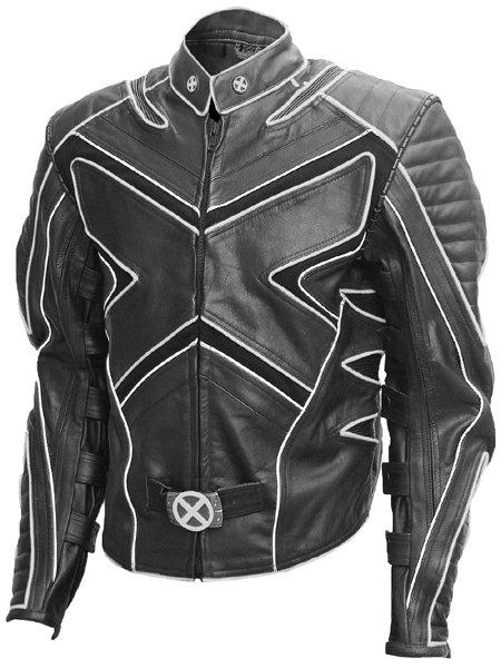 Wolverine Black & White Fashion X-Men Leather Jacket