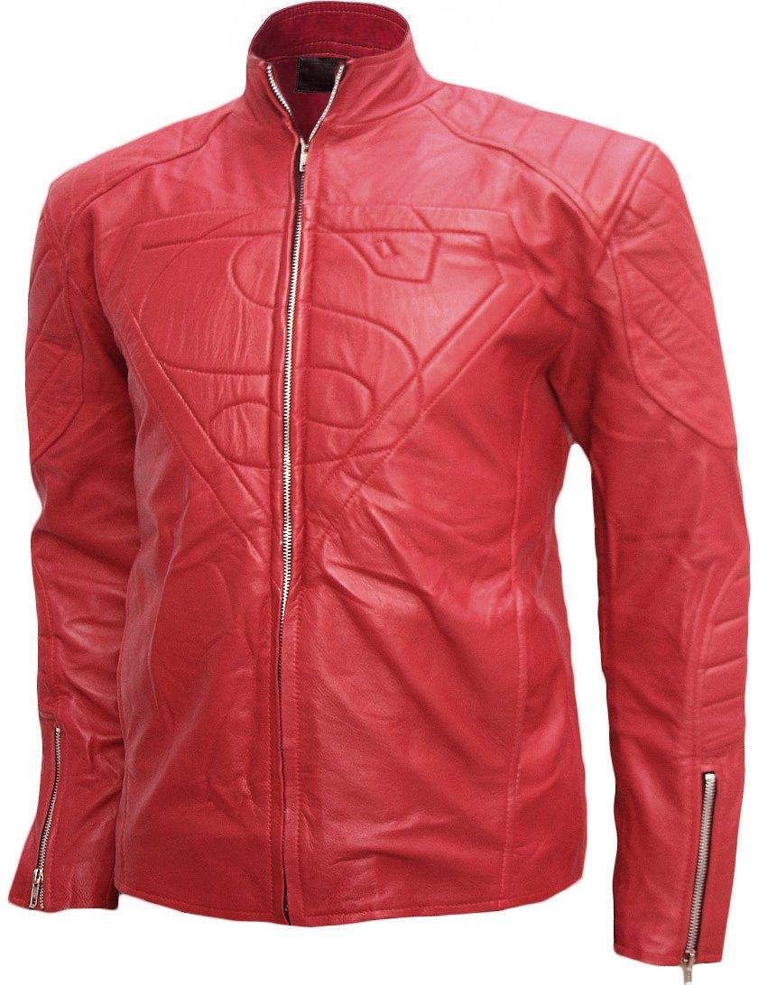 Smallville Season 10 Superman Leather Jacket