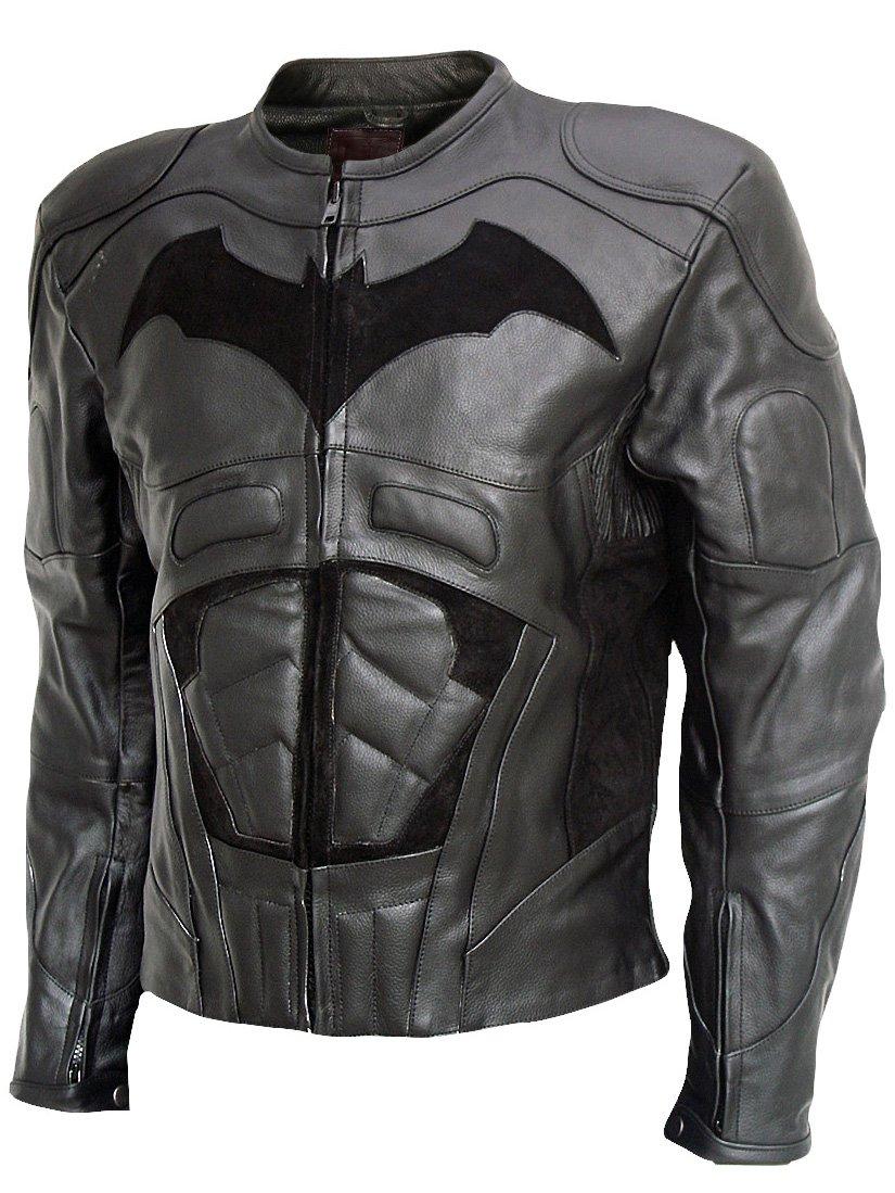 The Dark Knight Rises (2012) Black Leather Christian Bale Jacket