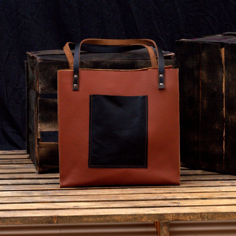 MONT5 Women's Vintage Genuine Leather Tote Shoulder Bag   Distressed Large Fashion Purse