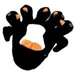5 Finger Penguin Puppet Mitt