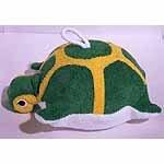 Terry Cloth Turtle Sponge