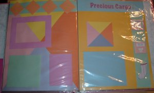 Baby Girl Pre Made Scrapbook by Colorful Memories