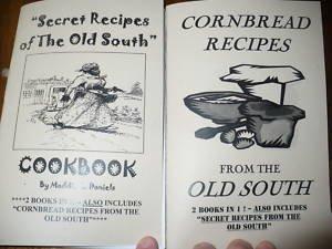 SECRET RECIPES OF the Old South & Cornbread Cookbook!@