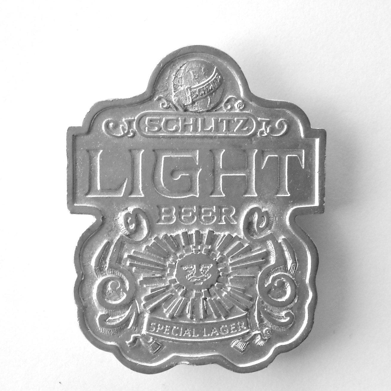Schlitz Light Beer Special Lager Vintage Bergamot Belt Buckle