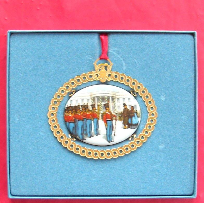 Christmas 1994 The White House Historical Association 24k Gold Finish ornament