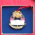 Christmas 1995 The White House Historical Association 24k Gold Finish Ornament