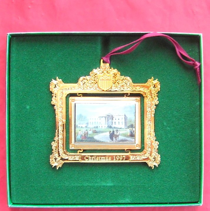 The White House Christmas 1997 Historical Association ornament