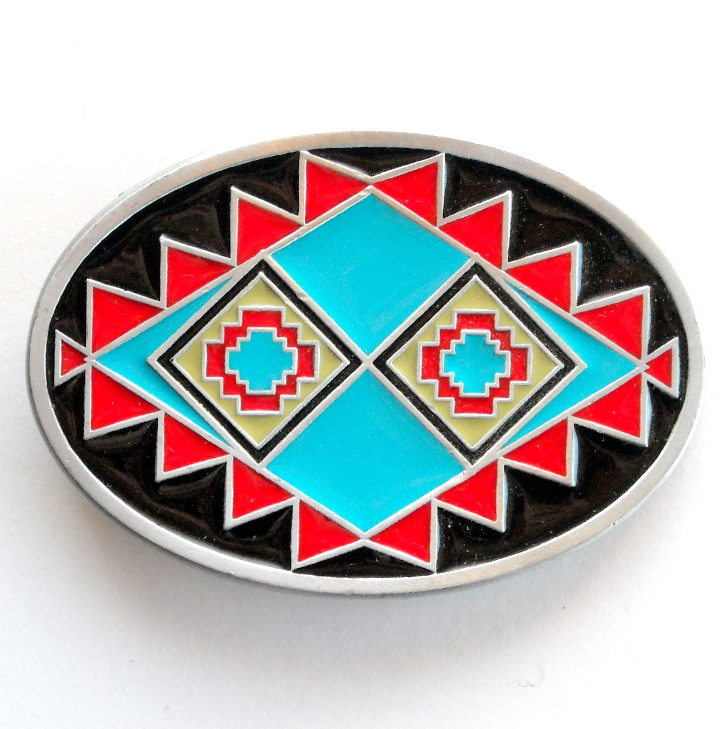 Native American Design Great American Gap Belt Buckle