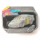 American Legends Ted Musgrave Nascar Family Channel 16 Limited Edition 420 Belt Buckle