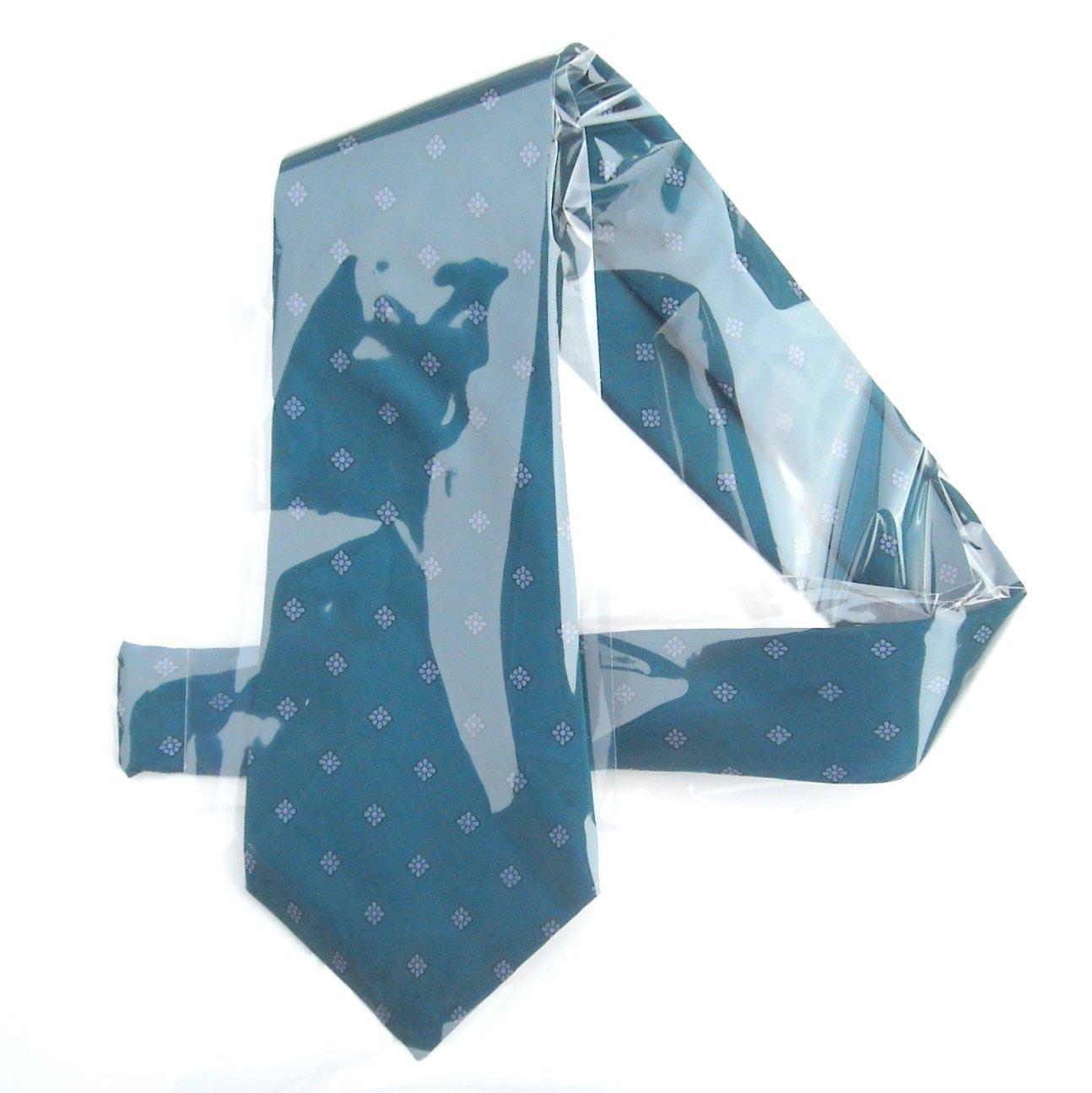 Vintage Younkers Green Mens Silk Necktie Tie