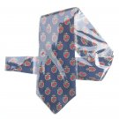 Tommy Hilfiger TH Shield Mens Silk Necktie Tie