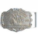 Vintage Foreign Domestic Gold Dealers Livingston Wells Belt Buckle