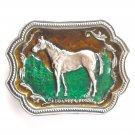 Quarter Horse Equestrian Western Belt Buckle