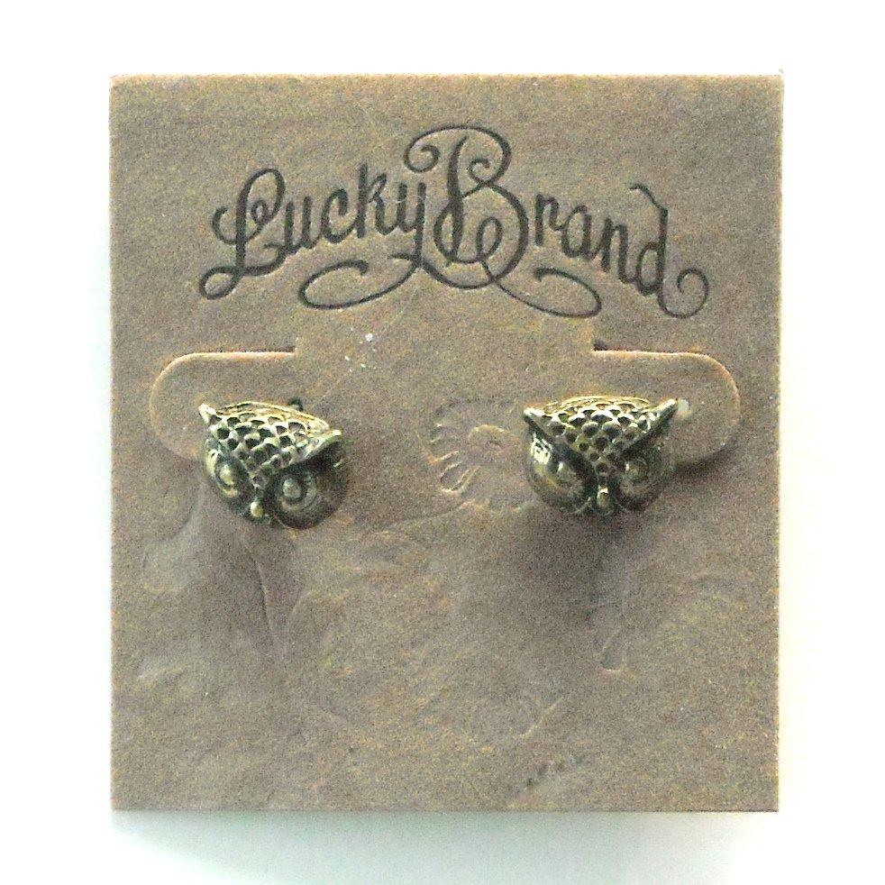 Owl Lucky Brand Stud Earrings