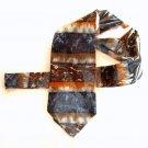 Miracle Expressions Mens Silk Necktie Tie