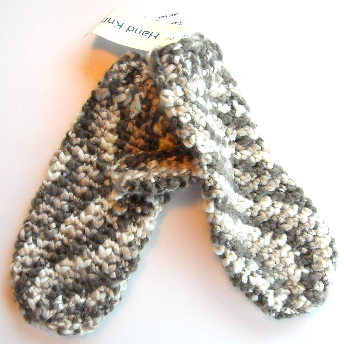 Maurices Womens Hand Knit Mittens One Size