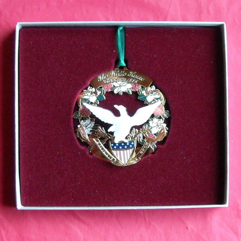 Christmas 1998 The White House Historical Association ornament
