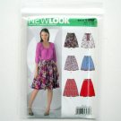 Misses Skirts Simplicity New Look Sewing Pattern 6982