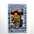 Grannys Antique Crafts 1995 Old Tyme Andie Doll Crafts Pattern No 97
