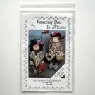 Keeping You In Stitches 1990 Ms Uptown Downtown Rag Dolls Crafts Pattern KS126