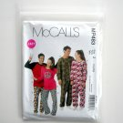Misses Mens Teen Boys Girls Top Pants Jumpsuit McCalls 2010 Sewing Pattern MP483