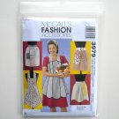 McCalls Fashion Accessories 2003 Vintage Aprons Sewing Pattern 3979