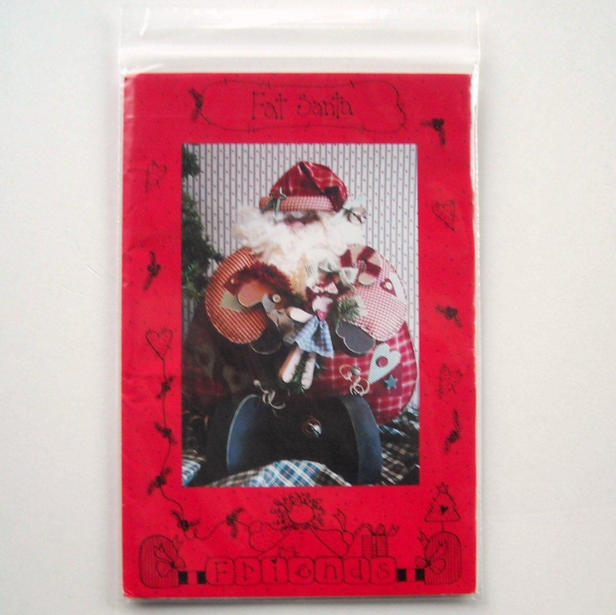 Friends 1994 Fat Santa Doll Crafts Pattern # 739