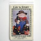 Luv 'N Stuff 1998 Big Clem 'N Crows Scarecrow Doll Crafts pattern # BC