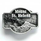 Mount St Helens Siskiyou Pewter Metal Alloy Belt Buckle