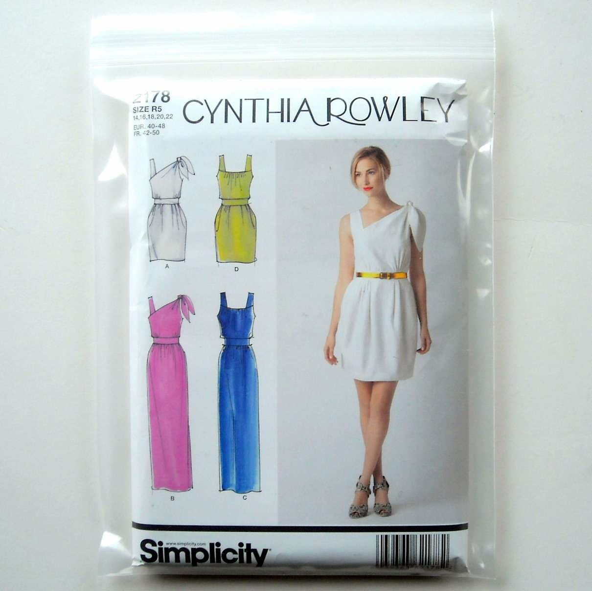 Cynthia Rowley Jewelry Organizer: Misses Dress Two Lengths Cynthia Rowley Simplicity Sewing