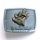 Remington Country Bugling Elk Pewter Alloy Belt Buckle