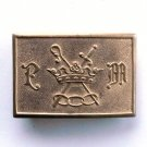 Odd Fellows IOOF General Military Council Belt Buckle