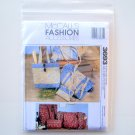 Duffle Bags Make Up Case Tote Bag Eyeglass Case McCalls Sewing Pattern 3693