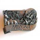 Arizona The Great Escape Bergamot Pewter Belt Buckle