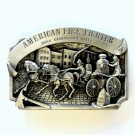 American Fire Fighter LTD 2228 Arroyo Grande Pewter Vintage belt buckle