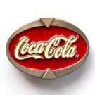 Coca Cola Brand Image Special Edition 725 Pewter USA Belt Buckle
