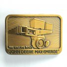 John Deere Max Emerge Brass color belt buckle