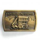 John Deere 740 Stripper Brass Color Belt Buckle