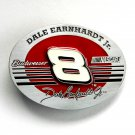 Dale Earnhardt Jr 8 Budweiser Nascar pewter belt buckle