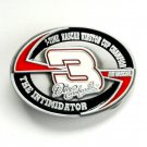 Dale Earnhardt 3 The Intimidator Nascar pewter belt buckle