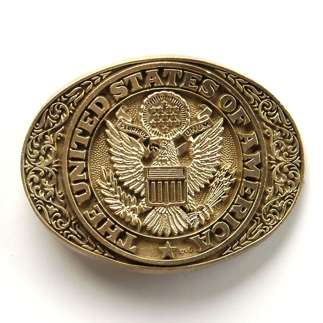 Quot Sold Quot United States Of America Vintage Award Design Brass