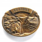 Arizona Grand Canyon Scenic View Arroyo Bergamot Brass Color Belt Buckle