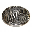Atlantic City New Jersey Seal ADM Solid Brass Belt Buckle