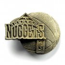 Denver Nuggets NBA Original Solid Pewter Belt Buckle