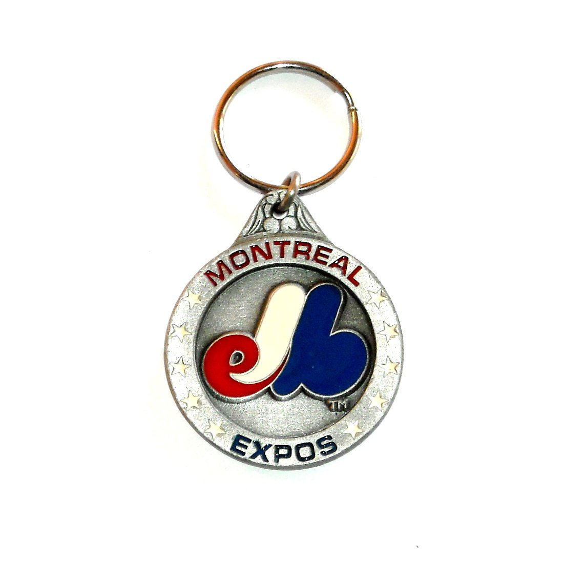 Montreal Expos National League Baseball Fob Key Ring Keychain
