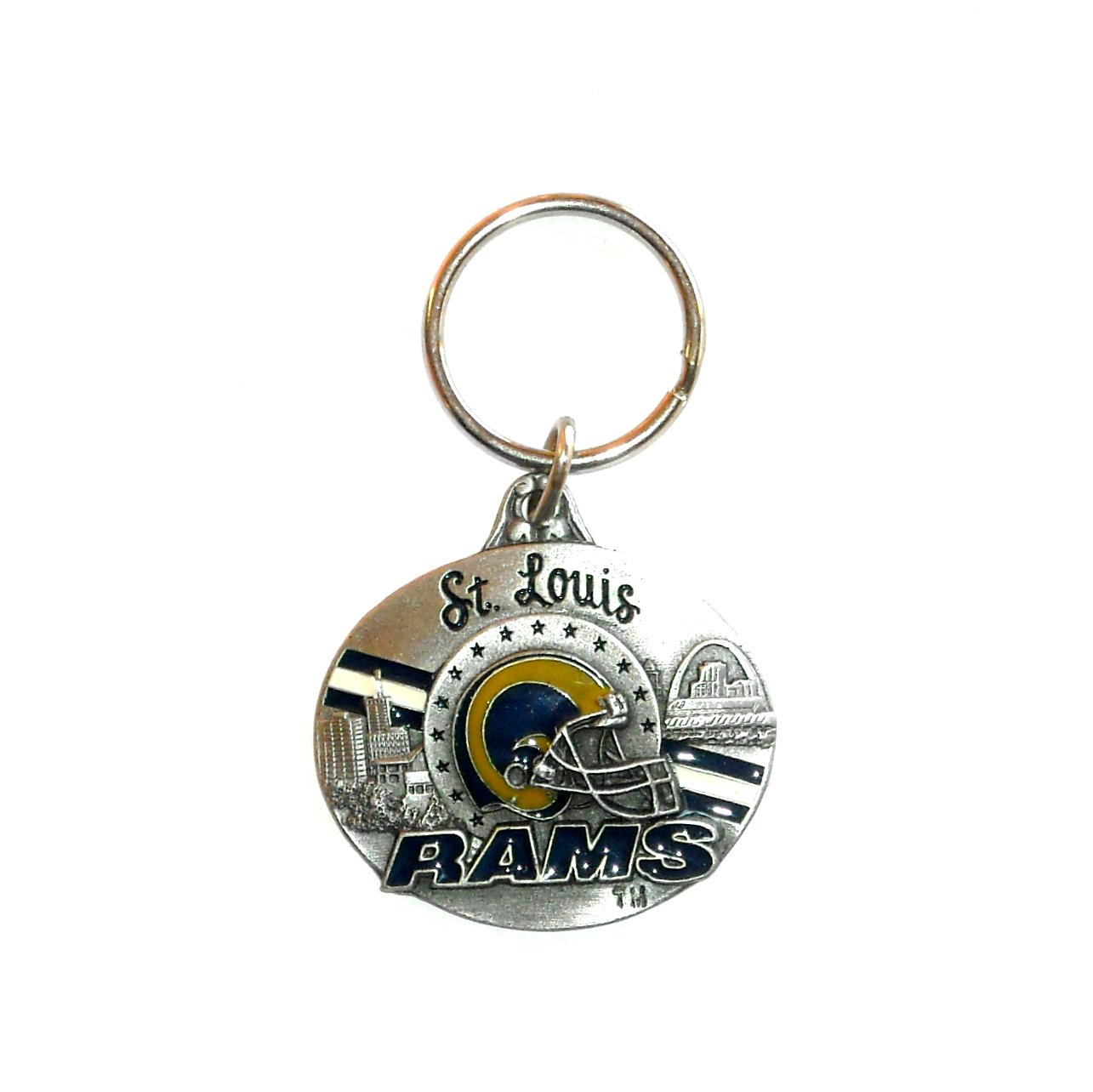 St Louis Rams NFL Football Fob Key Ring Keychain