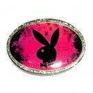Playboy Bunny Black Standard Belt Buckle